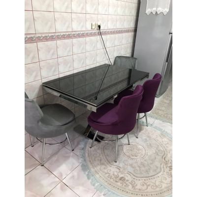 4 Selo Sandalye + İkon Masa
