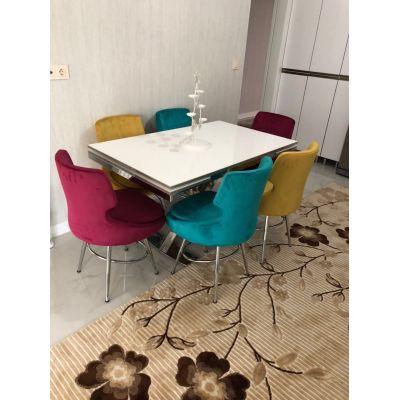 6 Selo Sandalye + İkon Masa