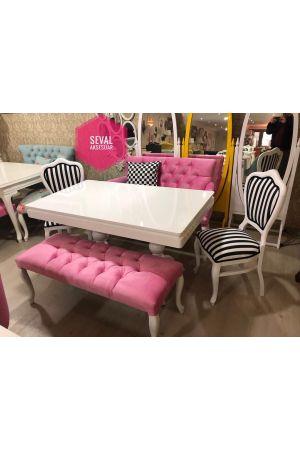 İnci Sandalye + İnci Masa
