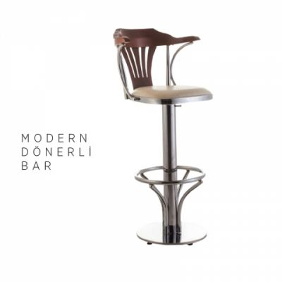 Modern Bar Taburesi (Dönerli)