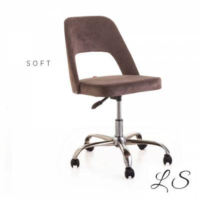 Soft Tekerlekli Çalışma Sandalyesi