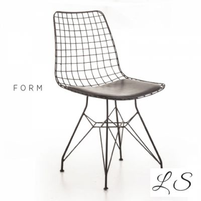 Form Tel Sandalye