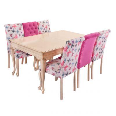 Kelebek Masa Sandalye Takımı