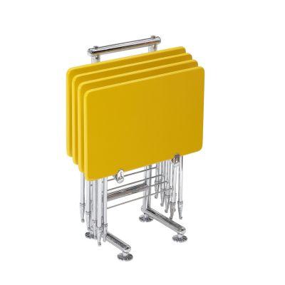 Sarı Çanta Zigon Sehpa