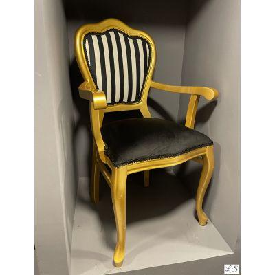 İnci Kollu Sandalye