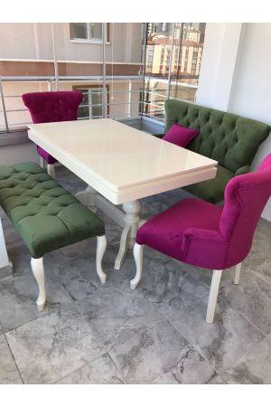 Saray Bank Takımı+İnci Masa