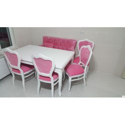 İnci 2'li Bank+İnci Sandalye+Lükens Masalı